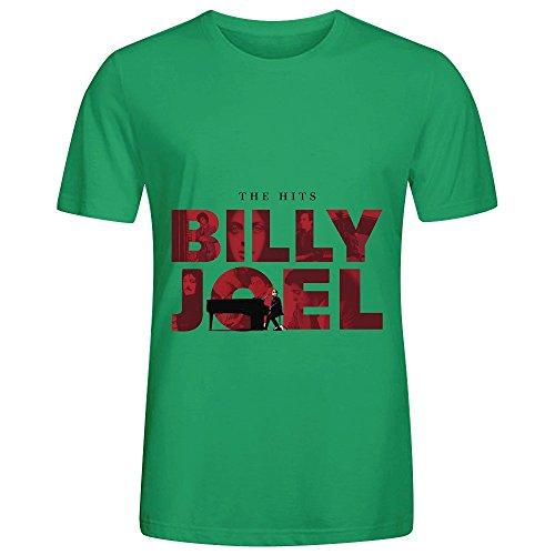 billy-joel-the-hits-rock-men-crew-neck-graphic-t-shirt-green