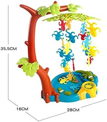 Sharplace Juegos de Equilibrio de Mono de Plásticos Juguetes Interactivos de Diversión para Niños: Amazon.es: Juguetes y juegos