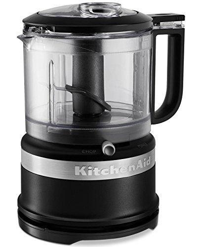 KitchenAid KFC3516BM 3.5-Cup Mini Food Processor, Black Matte