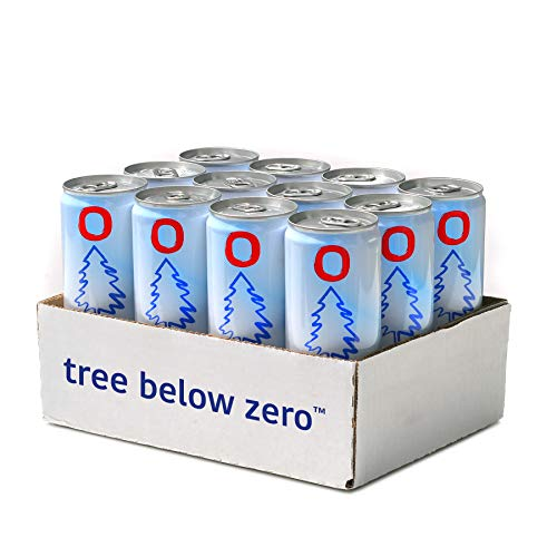 (Tree Below Zero Sparkling Juice Flavored Hemp Infused Soda, Full Case of 12 12oz cans (Cranberry Ginger))