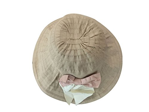 il colore Acvip Capeline viaggio Cappello estivo Cap anti femminile vacanza 6 di per elegante uv con Visor sole farfallino Spiaggia 8IqIrUx