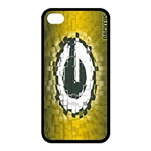 Custom Green Bay Packers Back Cover Case for iphone 4,4S JN4S-733