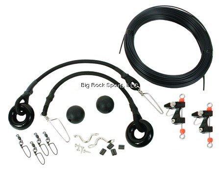 Black's OK-001 Complete Outrigger Kit, Black Finish