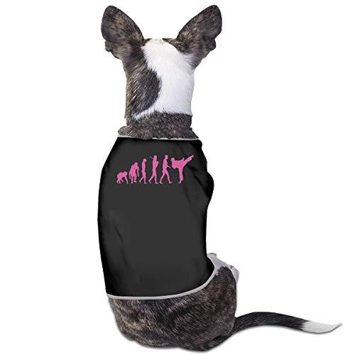 LNUO-2 Pet Shirt, Evolution Karate Dog Cat Clothes Costume -