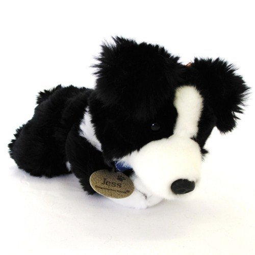 25cm Jess Border Collie Dog Soft Toy ()