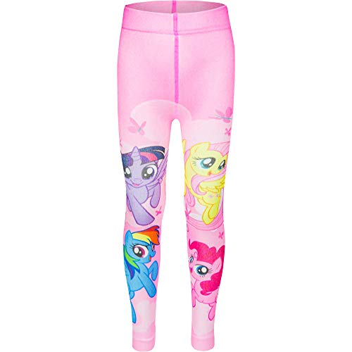 My Little Pony Girls Pink Leggings Tights for Age 2 to 9 Years (4-5 Years (Length:104-110 cm)) ()