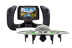 UDI RC U845 WiFi 2.4GHz 6 Axis Gyro FPV Drone with HD Camera RTF Quadcopter Bundle with Battery from UDI RC