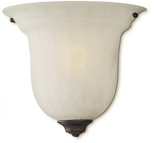 Dolan Designs 227-30 Richland 1 Light Wall Sconce, Royal (Light Marble Wall Washer)
