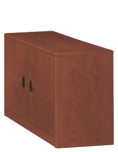 (HON 107291JJ 10700 Series 36 by 20 by 29-1/2-Inch Cabinet with Doors and Adjustable Shelf, Henna Cherry)