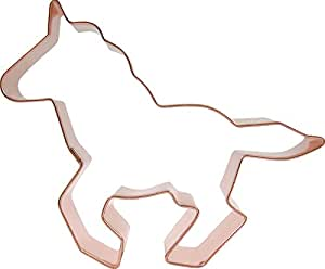 CopperGifts: Horse Cookie Cutter (Running)
