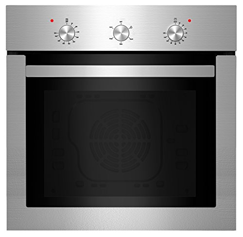 Empava 24″ Push Buttons Electric Built-in Economy Under-Counter Stainless Steel Single Wall Ovens EMPV-24WOA01-LTL