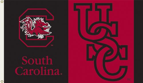 (NCAA South Carolina Fighting Gamecocks 3-by-5 Foot Flag with Grommets)