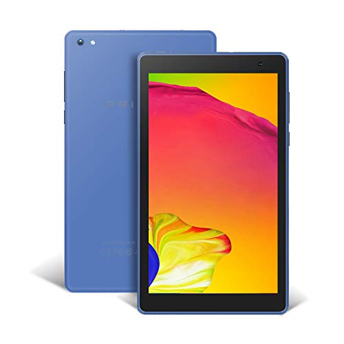 Pritom 7 inch Tablet – Android 8.1 Oreo Go Tablet PC with 32 GB Storage, Quad Core Processor, HD IPS Display, Dual Cameras, WiFi, Bluetooth – Android Tablet,Blue