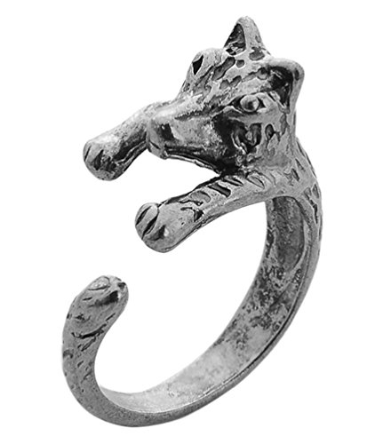 Cuff Wolf Jewelry Ring For Men,Charm Alloy Wolf Ring,Cuff Ring For Men,Cuff Alloy Wolf Ring For Women