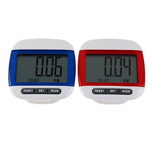 Moppi Grande jogging écran contre étape podomètre marche de distance de calories