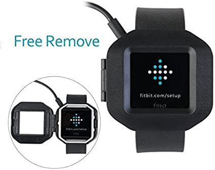 Fitbit Blaze Charger,UKCOCO Replacement USB Charger Adapter Charge Cord Charging Dock Cable for Fitbit Blaze Smart Fitness Watch