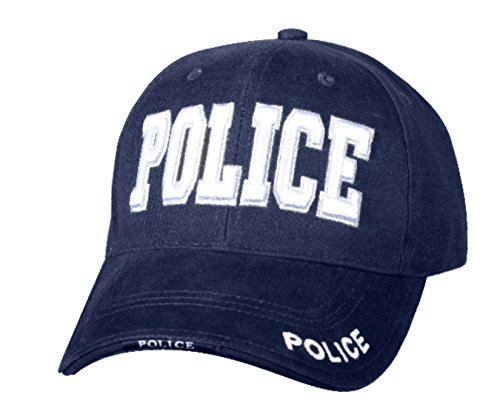 Police - Law Enforcement, Baseball Cap Hat, 3D Embroidery, 100% - Cotton Police Hat