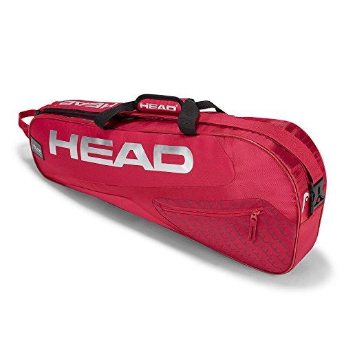 HEAD Elite 3 Racquet Pro Tennis Bag Red