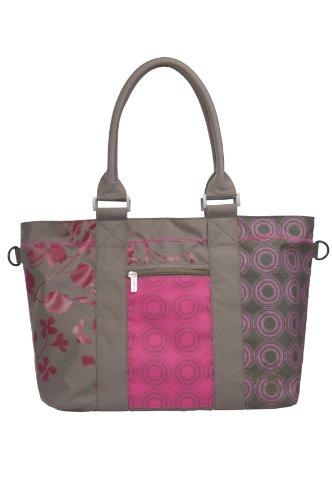 Lässig LCS10231 - Wickeltasche Casual City Shopper Bag colored, olive