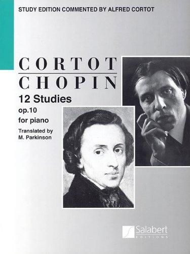 12 Studies Op10 Piano Etudes (English Text) (Tapa Blanda)