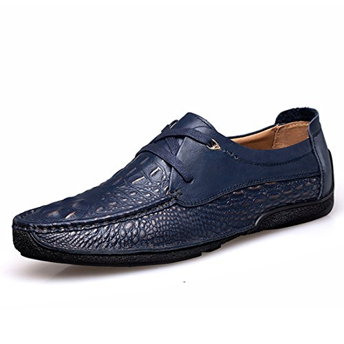 Minitoo LHEU-LH1659, Sneaker Uomo, Blu (Dark Blue), 40 EU