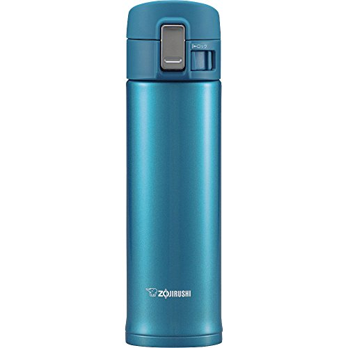 Zojirushi SM-KB48AW Stainless Steel Travel Mug, 16-Ounce/0.48-Liter, Marine Blue