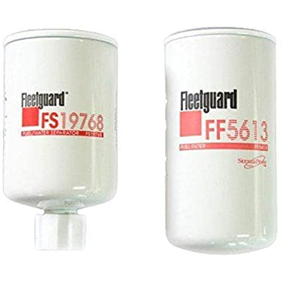 Kit Fleetguard (FF5613-FS19768) Fuel Filter - Water Separator: Automotive