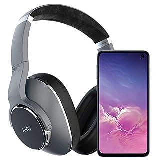 Samsung Galaxy S10e Factory Unlocked Phone with 256GB (U.S. Warranty), Prism Black w/AKG N700NC Headphones