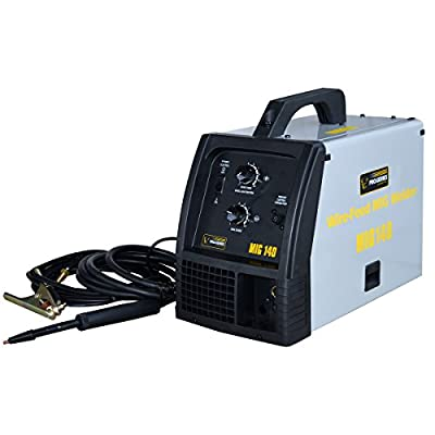 Buffalo Corp MMIG140 Pro-Series Wire-Feed, Spoolgun-Ready 140 Amps MIG Welder Kit
