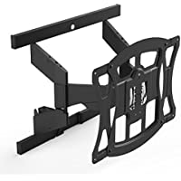 Suncraft TV Wall Mount - Ultra Slim Full Motion Mount Optimized for Samsung Curved Television 40-100 (THX-DS5551FM)