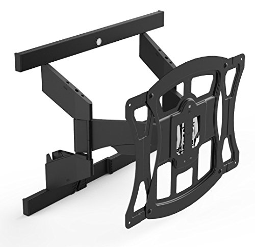 Suncraft TV Wall Mount - Ultra Slim Full Motion Mount Optimized for Samsung Curved Television 40
