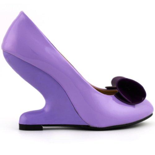 Show Story - punta cerrada mujer púrpura - morado