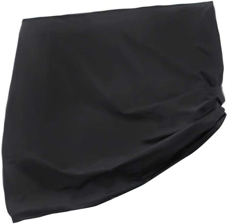 SmallPocket Funda Protectora para Mesa de Ping-Pong Cubierta de Protección para Mesa de Tabla de Tenis UV y a Prueba de Polvo 210T Oxford Mantel portátil para Exteriores (170x190x70cm, Negro)