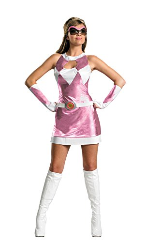 Adult-Costume Sassy Pink Ranger 4-6 Halloween Costume - Adult 4-6