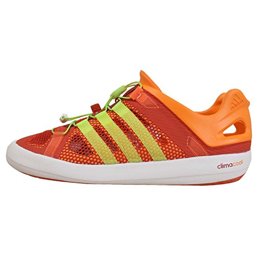 Adidas Climacool Boat Breeze Shoes - 10.5 - Orange- Buy Online in ...
