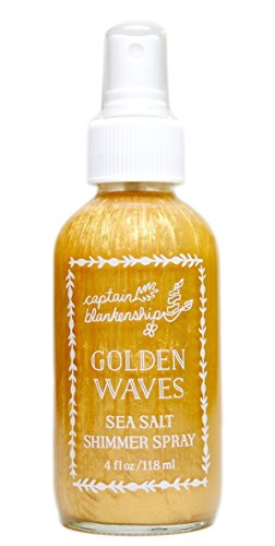 Captain Blankenship - Organic Golden Waves Sea Salt Shimmer Spray (4 oz)