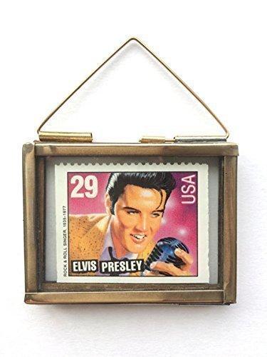 Elvis Presley Framed Postage Stamp Keepsake Gift (Framed Stamp)