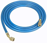 "Robinair 32096 Blue 96"" Long Premium Refrigerant Charging Hose (1/4"" Standard Hose with Standard Fittings) by Robinair"