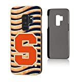 Keyscaper NCAA Syracuse Orange Samsung Galaxy S9+ Bamboo Case, Wood