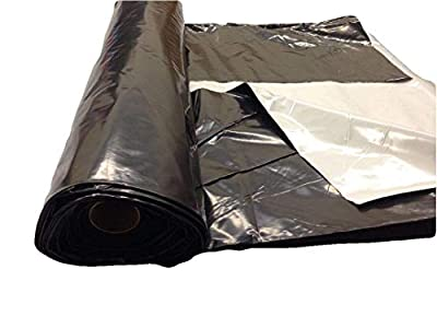 Light deprevation greenhouse cover 100% blackout film 40' x 25' 6 mil