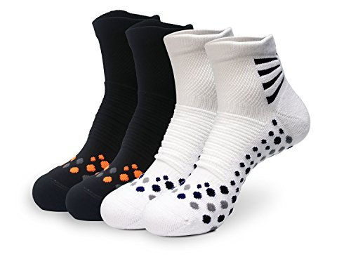 CTC Sock - Women's Outdoor Pro Racing Ankle Sock - 4 Pairs Pack (9-11)