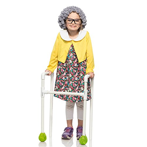 Grandma Costume For Girls (Child Grandma Costume XX-Small)