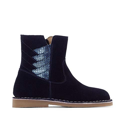 La Collections Boots Bambina In Redoute 2638 Marine Pelle FSPFUTwxq