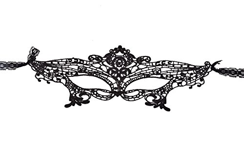 Most Common Halloween Costumes For Adults (Oxfox Lace Masquerade Mask Halloween Women Eye Mask Fancy Dress Party Style B)