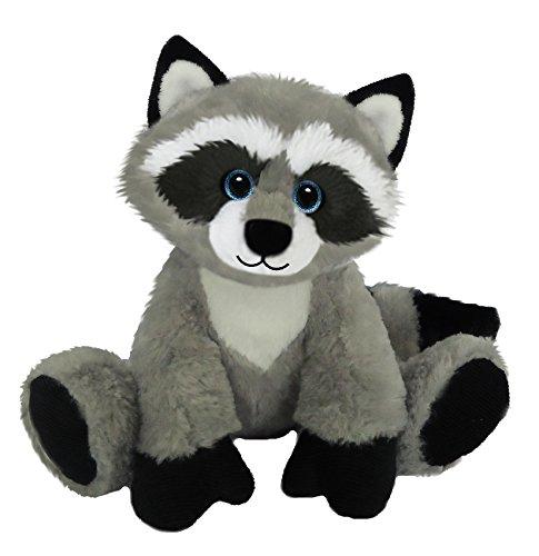 First & Main Sitting Floppy Friends Raccoon Plush Toy, 7