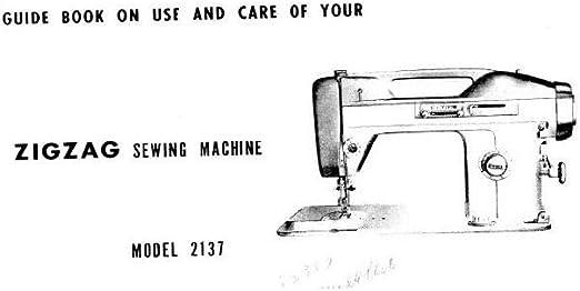 Descargar Pdf-File Singer W2137 máquina de coser: Amazon.es: Hogar