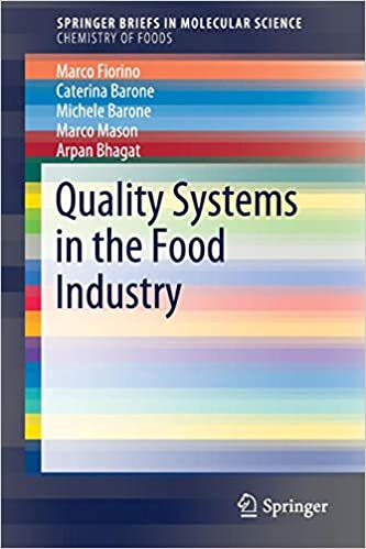 Quality Systems in the Food Industry (SpringerBriefs in