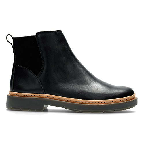 Clarks Trace Fall, Scarpe stringate donna nero Black