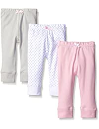 Baby Girls' Cotton Tapered Ankle Pants,