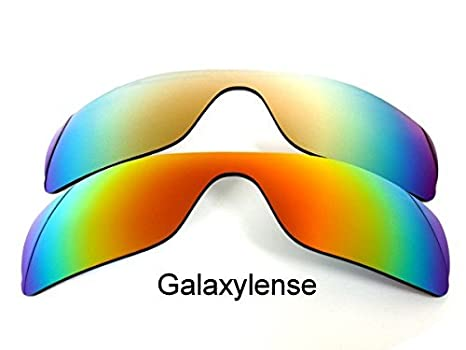5133e8987c Galaxy Replacement Lenses For Oakley Batwolf Polarized Red Gold 2Pair -  Clear